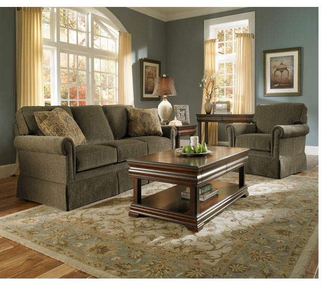Inspire Traditional Simplicity In Your Living Area While Providing Immense  Comfort For Temporary Visitors Or Overnight Guests With The Audrey 3762  Sofa ...